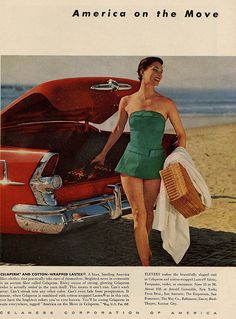 america on the move | May 1955 Charm Magazine