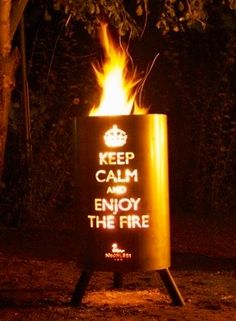 Enjoy the Fire....  Call Carlin Chimney to make sure your all SET...