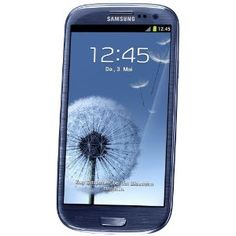 Samsung Galaxy S III i9300 Smartphone 16 GB (12,2 cm (4,8 Zoll) HD Super-AMOLED-Touchscreen, 8 Megapixel Kamera, Android OS) metallic-blue