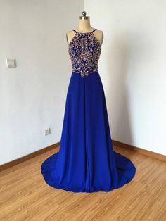 New Arrival Chiffon Prom Dress,Sexy Prom Dress,Backless Prom Dresses,Beading Prom Gown, Formal Evening Dress Straps Prom Dresses, Prom Dresses 2016, Beaded Prom Dress, Backless Prom Dresses, Formal Dresses, Dress Prom, Party Dresses, Long Dresses, Formal Wear