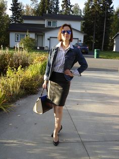 High Latitude Style | Polished casual Friday look