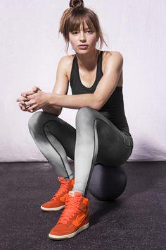 Nike Dunk Sky Hi. Love u Nike <_////// <--- Nike sign I made- By BRIANNA LAMONTE