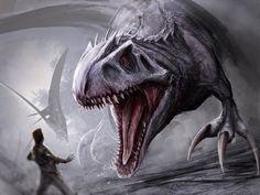 Indominus Rex by Tapwing.deviantart.com on @DeviantArt