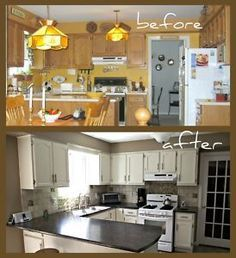 How To Paint Kitchen Cupboards  Painted Kitchen Cupboards Enchanting Spray Painting Kitchen Cabinets Decorating Inspiration