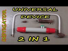 """How to make a mini pyrography tool /The Hot-Wire """"Styro-Slicer"""" /DIY - YouTube"""