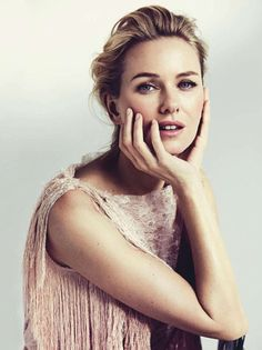 naomi watts - beautiful, oval face, dreamy feeling to this photo, she gives this feminine, fragile impression