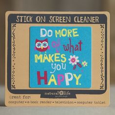 Stick On Laptop Screen Cleaners