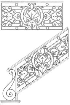 Stair Railing Designs ISR051