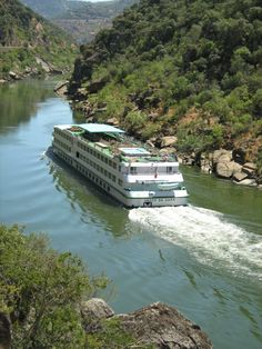 Cruising Douro River, Douro Valley, Portugal #Portugal