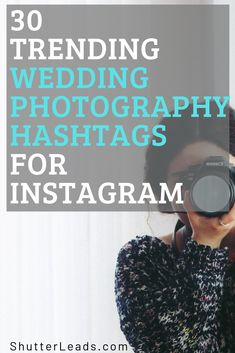 Enjoy these 30 trending wedding photography hashtags for your Instagram. Photography Articles, Photography Jobs, Quotes About Photography, Photography Awards, Photography And Videography, Artistic Photography, Photography Business, Wedding Photography Hashtags, Photography Assistant Jobs