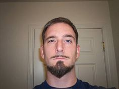 I love it!  This man has grown, groomed and shaped over 40 different styles of beards!  He has descriptions as well as photos of all his facial hair endeavors.  It looks like he started in 2003 or so....and he has great facial expressions, too!  LOL