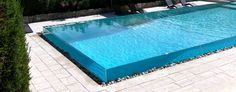 all glass swimming pool