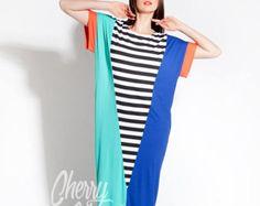 Dres maxi gris Maxi robe/Long / Caftan / par cherryblossomsdress