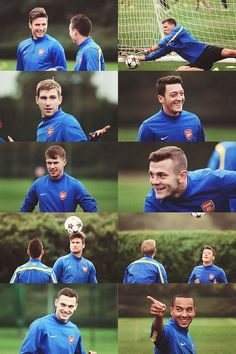Arsenal Training Montage.