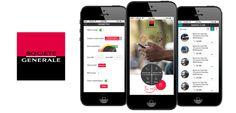 www.asimove.com | Conception graphique et ergonomique de l'application bancaire Android et iPhone de la Société Générale Calédonienne de Banque