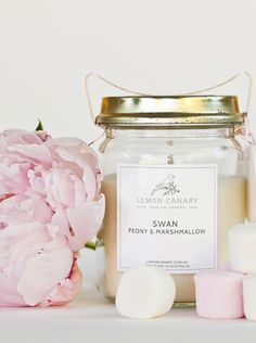 Pure Soy Candle with Essential Oils - Vintage 200