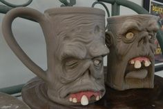 Attack of the Zombie Mugs- WIP by thebigduluth.deviantart.com on @deviantART