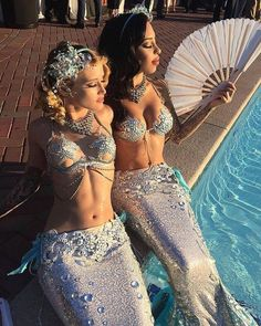 All items are made to your specific sizes/measurements. Once shipped shipping takes days too arrive anywhere in the USA. weeks for anywhere internat - Salvabrani Mermaid Bra, Mermaid Outfit, Mermaid Tale, Mermaid Tights, Sexy Mermaid Costume, Real Mermaids, Mermaids And Mermen, Carnival Costumes, Dance Costumes