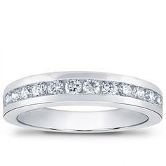 32e024a2d31 Channel Set 0.70 cttw Diamond Band. The Channel Set cttw Diamond Band  features fourteen brilliant cut round diamonds. Shop for eternity bands and  wedding ...