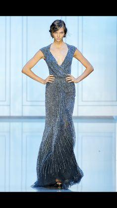 Gradient gown