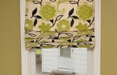 DIY roman curtains/shades