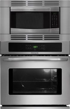 Bundle 3 Items Frigidaire Professional Piece 27 Stainless Steel Electric Wall Oven Microwave Combo Fpew2785pf Fpmo209kf Mwtk27kf