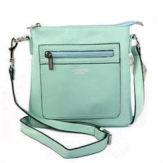 Look Here! Coach Zip In Logo Small Green Crossbody Bags CFS Outlet Online