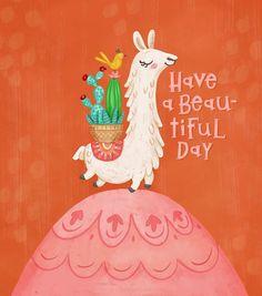 Such a cute llama! Alpacas, Cute Illustration, Digital Illustration, Birthday Wishes, Happy Birthday, Llama Face, Llama Arts, Cute Llama, Decoupage