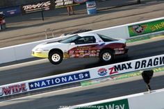 Sterling Simmons Jr's 1998 Pontiac Firebird #wheelsup in Stock Eliminator at the #NHRA Fourwide Nationals 2014