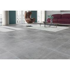 Leroy Merlin Floor Tiles Carrelage Sol Et Mur Gris Effet Beton New
