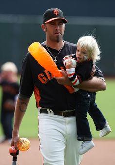 Family softball game