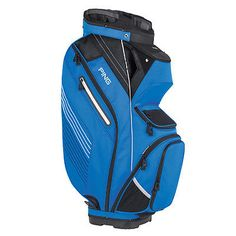 Golf Club Bags 30109: New Ping 2017 Pioneer Golf Cart Bag (Blue / Black / White) BUY IT NOW ONLY: $194.99