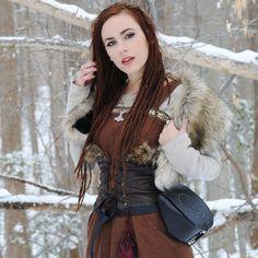 Winter outfit by @meneldea (Instagram).