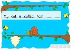Interative games for full stops and Capital letters
