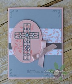 Stampin' Up! Hold on to Hope Class To Go