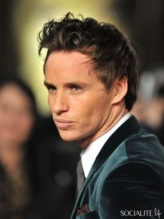 Eddie Redmayne- English actor.  (My Week With Marilyn, Les Miserables)