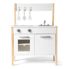 Classic Scandinavian Kitchen White One Size Little Chef, Wooden Kitchen, Kitchen White, Kitchen Sink, Scandinavian Kitchen, Classic White, White White, Baby Shop, Hana