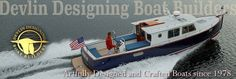 Lit'l Coot Full Keel 18 – Devlin Designing Boat Builders Tug Boats, Motor Boats, Trawler Boats, Tiny Boat, Model Boat Plans, Wood Boat Plans, Aluminum Boat, Boat Design, Lighthouses