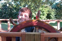 Make-A-Wish:  Ethan's Pirate Ship Tree House