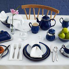 Buy Denby Imperial Blue Tableware Online at johnlewis.com - everyday crockery