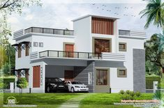flat roof homes designs | ... flat roof house - Kerala home design - Architecture house plans