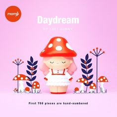 What a day for a Daydream! 🍄🍁🧡 Under October skies we're welcoming our new girl designed by ❤️ If, like us, you're head-over-… Momiji Doll, October Sky, Mascot Design, Halloween Coloring, New Girl, Blythe Dolls, Cute Drawings, Daydream, Chibi