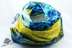 Loop Baumwolle von Lieblingsmanufaktur: Farbenfrohe Loop Schals, Tücher und mehr auf DaWanda.com