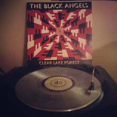 Somewhere between The Velvet Underground and The Brian Jonestown Massacre there is The Black Angels. Clear Lake Forest.  #Vinyl #NowSpinning #TheBlackAngels #ClearLakeForest by gradysmith93