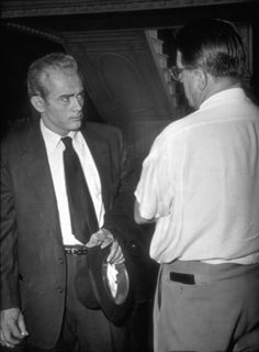 James Dean & George Stevens