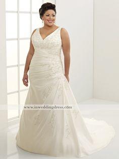 plus sizes wedding dress