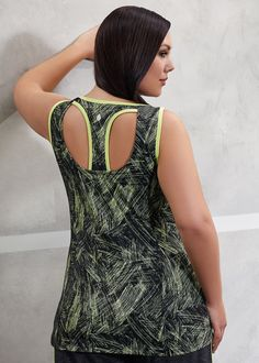 Active wear | plus size activewear - ASPIRE TANK - TS14