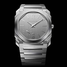 Bulgari - Octo Finissimo S Steel Silvered Dial | Time and Watches | The watch blog #bulgari #bulgariwatches #bulgariocto #octofinissimo
