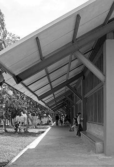 Escuelita Buganvilia | CÚRE & PENABAD Architecture and Urban Design; Photo: Carlos Domenech | Archinect