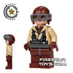 LEGO Star Wars Mini Figure - Naboo Fighter Pilot (firestartoys, 2013)